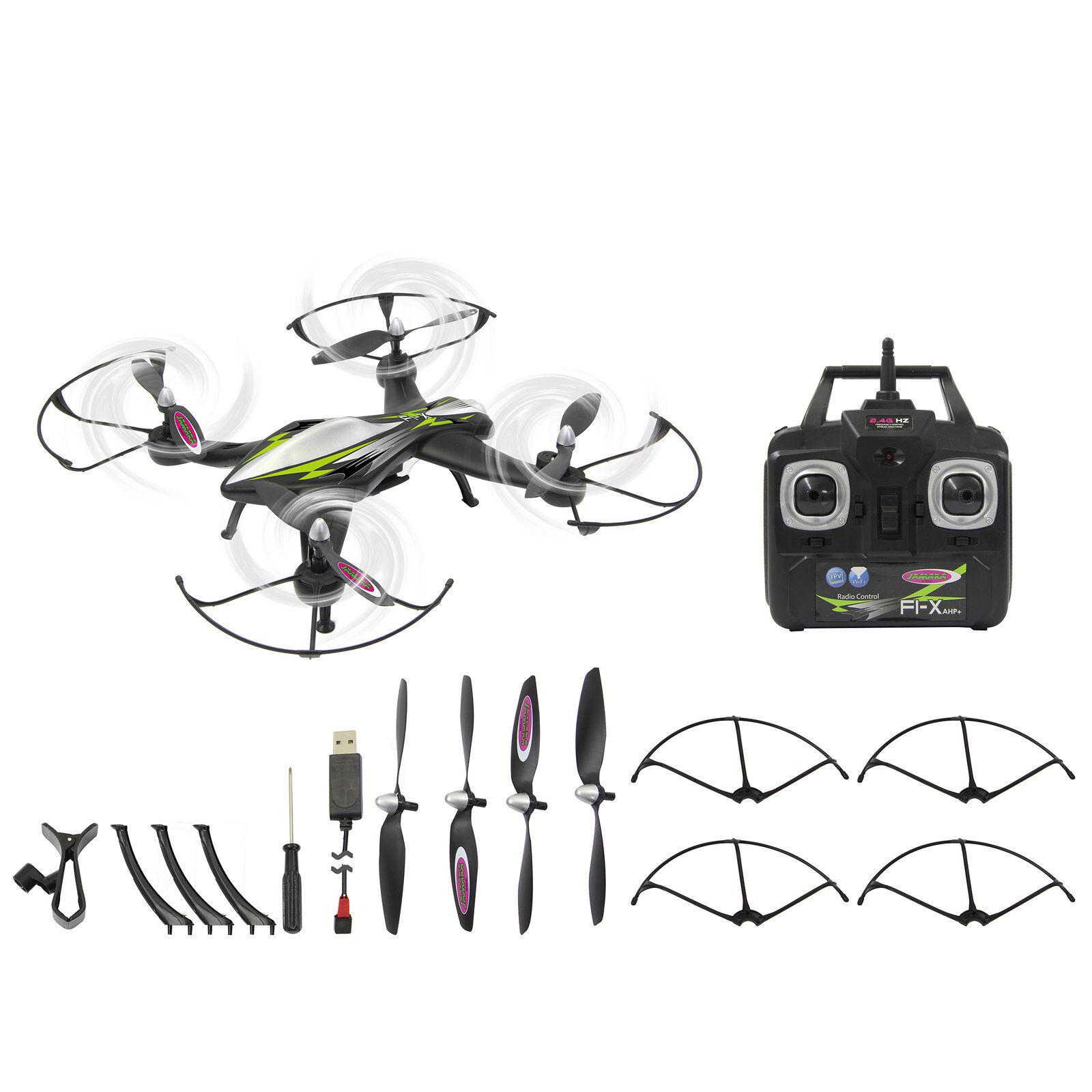 Jamara f1x Quadrocopter Altitude WIFI FPV AHP + 422011