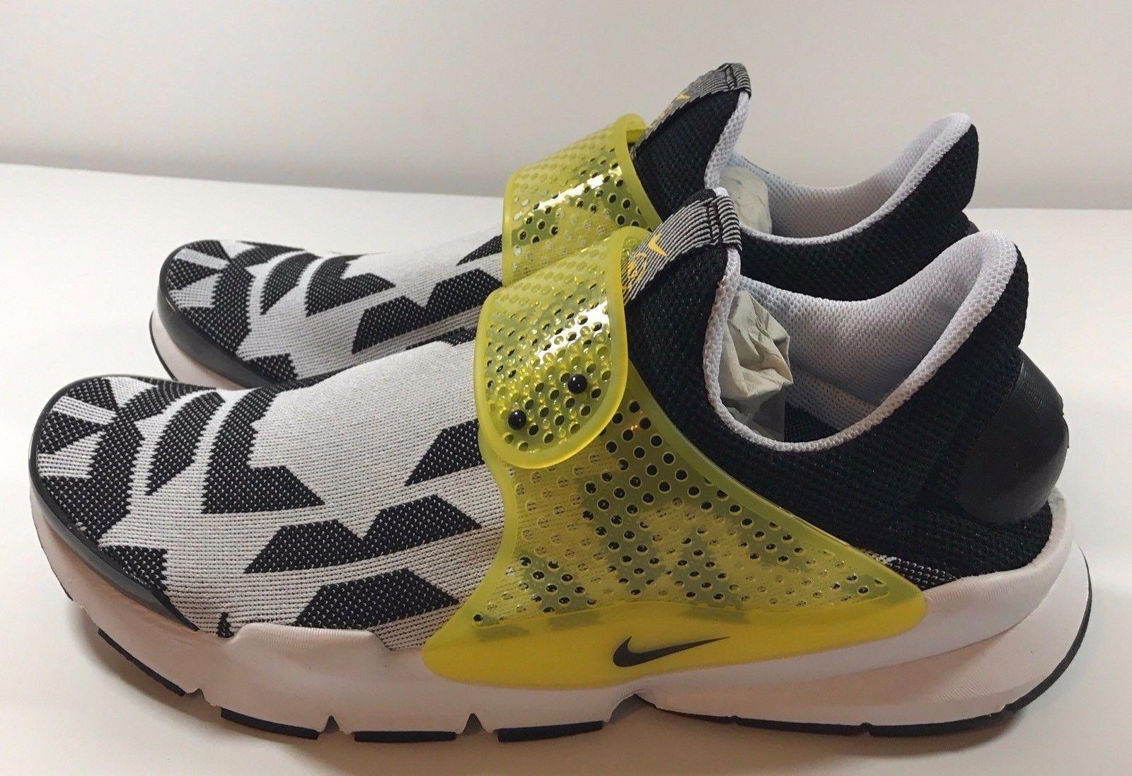 Nike Sock Dart GPX N7 White Varsity Maize Black 908660-117 Size 13