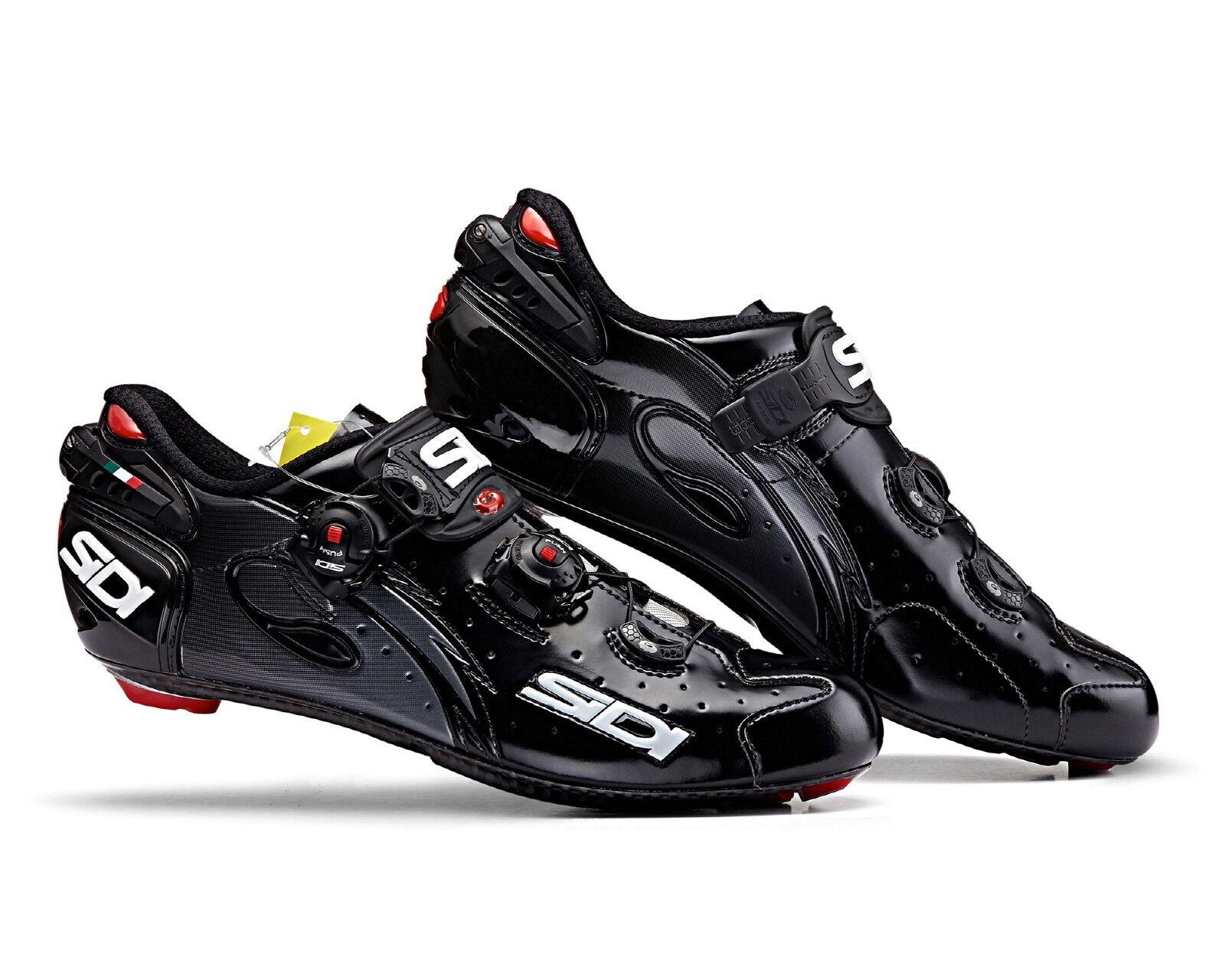 SIDI Wire Cochebon Road Cycling zapatos - negro negro