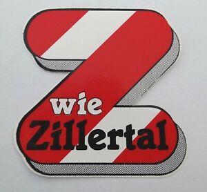 Bumper Stickers Z Like Zillertal Tirol Gerlos Mayrhofen Hintertux Austria 80er