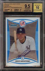 2008-Bowman-Chrome-Jesus-Montero-Rookie-RC-Autograph-BGS-9-5-Gem-Mint-10-Auto-22