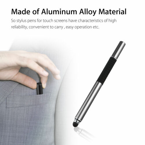 2 in 1 Luxury Fine Point Stylus Pen for Apple iPad,iPhone,Samsung,all smartphone