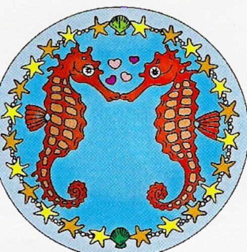 Seahorses Gutta-ventana imagen 25cm