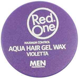 3-x-RedOne-Maximum-Control-Aqua-Hair-Gel-Wax-Violetta-150ml