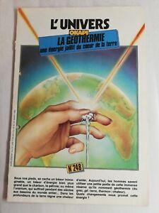 N86 Rivista Universo Okapi N° 248 La Géothermie Una Energia Del Cuore Di Terra