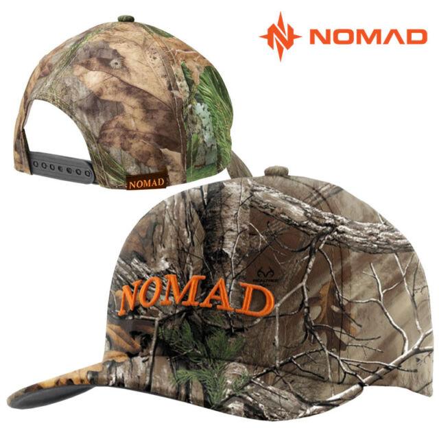 d2731ca60496ff Nomad Mens OG Snap Back Hat Cap Adjustable Camo Realtree Xtra Logo ...