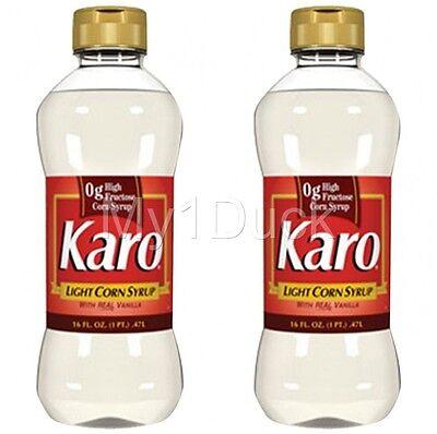 Karo Light Corn Syrup ~ 16 oz.  ~ (2-PACK) ~ FREE USA SHIPPING!