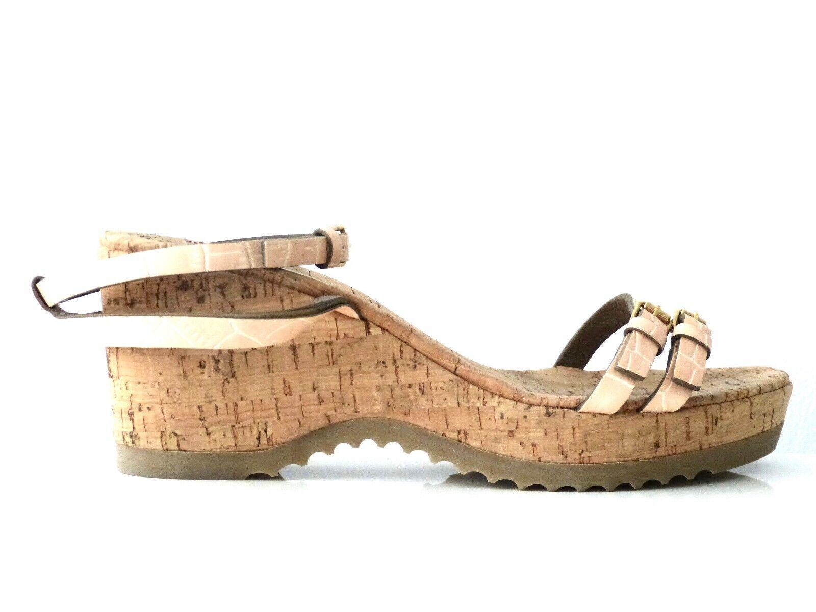 Stella McCartney Scarpe Zeppe Sandali cipria shoes Powder eu:40 NUOVO/NEW!