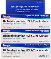 Diphenhydramine 2% & Zinc Anti-itch Cream (comp To Benadryl Cream) 1oz (3 Pack)