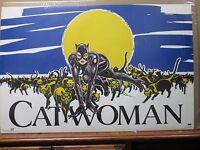 Vintage Catwoman Poster Batman Movie Cats Action 12341