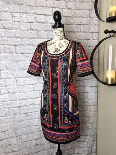 Jealous Tomato Tribal Print Dress Medium - image 1