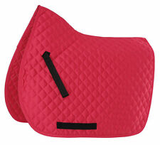 Shires Wessex Diamond Quilted Saddlecloth / Saddle Pad - All Sizes & Colours