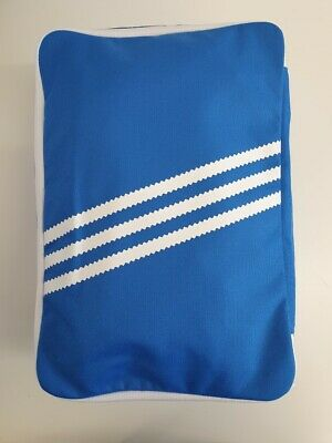Unisex Adidas Originals Schuh Sneaker Bag Blau Weiß Trefoil Nylon dw8881 | eBay