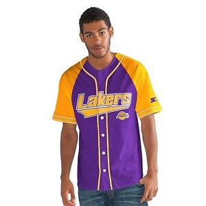 fd6f7b07f NEW NBA Basketball Men s Los Angeles Lakers Starter Baseball Style ...