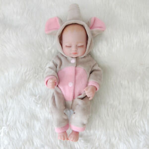 11 Mini Full Body Soft Vinyl Silicone Real Life Newborn Reborn Baby Girl Dolls Ebay