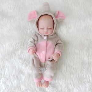 11 Mini Full Body Soft Vinyl Silicone Real Life Newborn Reborn Baby Girl Dolls Ebay