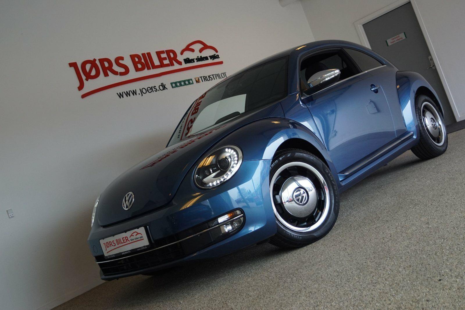 VW The Beetle 1,4 TSi 150 Design 2d - 229.800 kr.