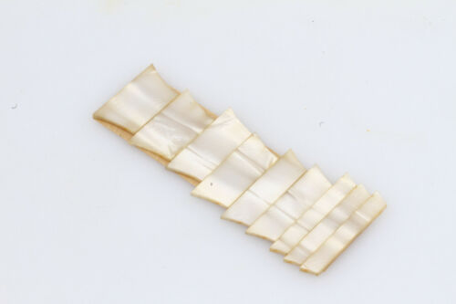 Cellulose Nitrate Les Paul Fingerboard Inlays 50/'s Pattern Vintage Cut