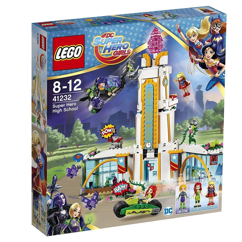Lego Dc Super Hero Girls 41232 High School the Super Heroes New Ovp Misb