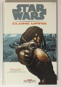 BD-Comics-Delcourt-STAR-WARS-CLONE-WARS-La-Defense-de-Kamino-Volume-1