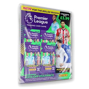 Panini - Premier League 2021/22 Adrenalyn XL Kick-Off Multipack (4 Packs)