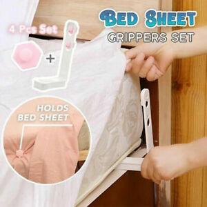 4Pcs-Set-Bed-Sheet-Fastener-Mattress-Cover-Holder-Grippers-Peg-Clips-Suspender
