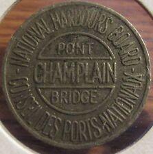1962 Pont Champlain Bridge Verdun, Quebec, Canada Transit Toll Token