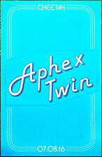 APHEX TWIN Cheetah 2016 Ltd Ed RARE Poster +FREE Electronica/Dance/EDM Poster!