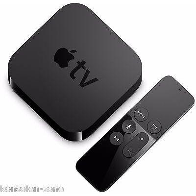 Apple TV 4 (32 GB) JAILBREAK Version 17 LIVE TV Kinofilme BS.to SIRI Fernbed.