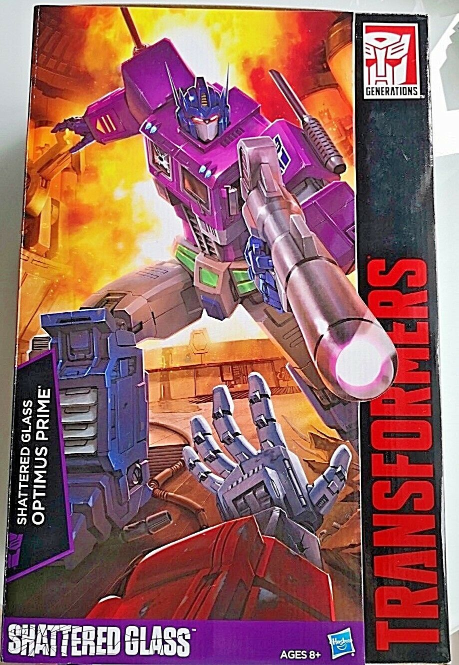 Transformers Masterpiece MP10 Shattered Glass Optimus Prime MISB