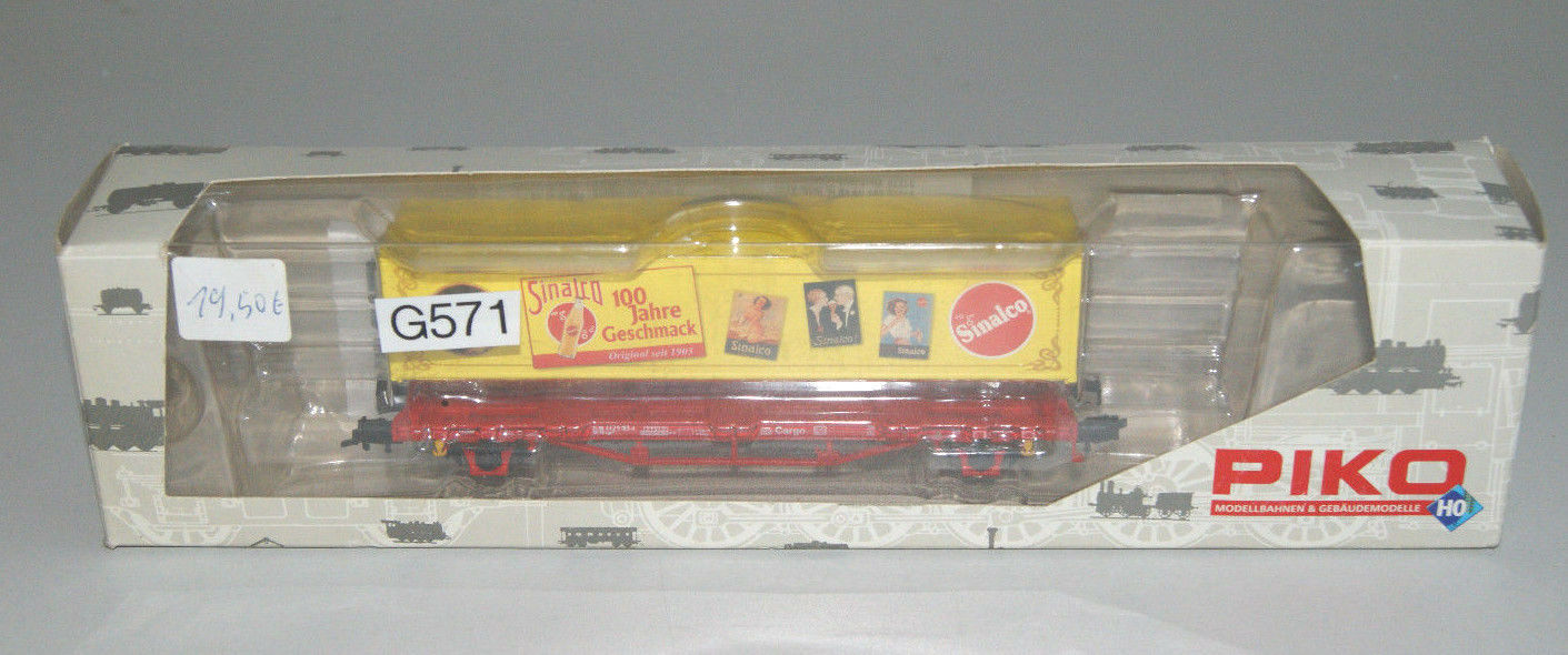 H0 Piko Anniversary Wagon Sinalco Wagons Top Condition (G571-R60)