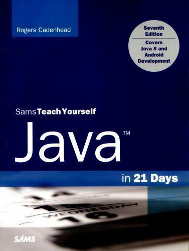 TEACH YOURSELF JAVA 8 IN 21 DAYS PDF DOWNLOAD
