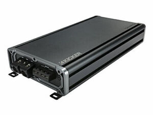 Kicker-46CXA18001-CX-Series-1800W-RMS-Class-D-Monoblock-Amp-Car-Audio-Amplifier
