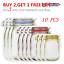 10X Reusable Mason Jar bottle Bags Food Saver Freezer Bag Leakproof PE plastic