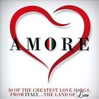 Amore: 30 of the Greatest Love Songs From Italy...The Land of Love by Various Artists (CD, Feb-2014, 2 Discs, Sony Music)