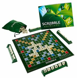 Original Scrabble Crucigrama Juego De Mesa Familiar Autentica Por