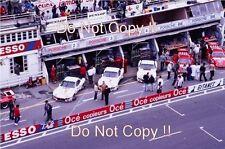 Factory Porsche 924 Carrera GT Pit Lane & Garage Le Mans 1980 Photograph