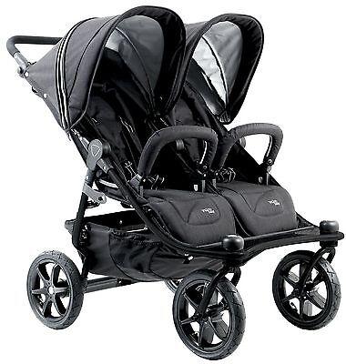 Valco Baby Twin Tri Mode Duo X All Terrain Double Triple Stroller W Toddler Seat Ebay