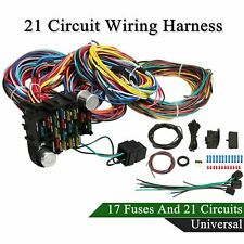 [DIAGRAM_3US]  Universal Extra Long Wires 21 Circuit Wiring Harness for Chevy MOPAR Ford  HOTROD for sale online | eBay | 21 Circuit Wiring Harness 1963 Impala |  | eBay