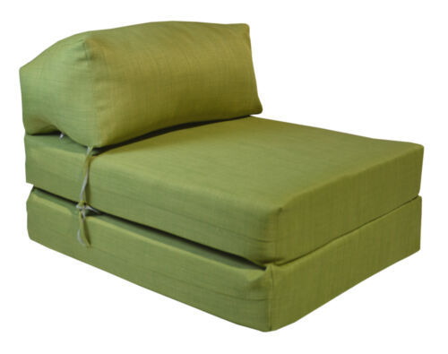 JAZZ CHAIR SOFA  VENICE Single Bed Z Guest Fold Out Futon Chairbed Matres Gilda