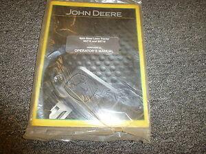 s l300 john deere sst16 sst18 spin steer lawn tractor owner operator manual