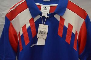 NEW-Adidas-Tri-Colore-Archive-Series-Collection-Short-Sleeve-Jersey-Medium