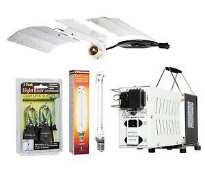 Hydrofarm Hydroponic Indoor 1000w Hps Grow Light Kit