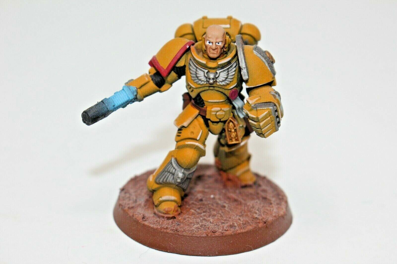 Warhammer marines espaciales Primaris teniente bien pintados-JYS79