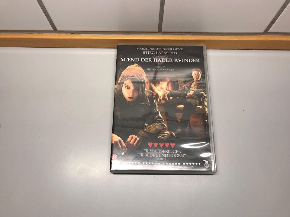 MÆND DER HADER KVINDER, instruktør NIELS ARDEN OPLEV, DVD