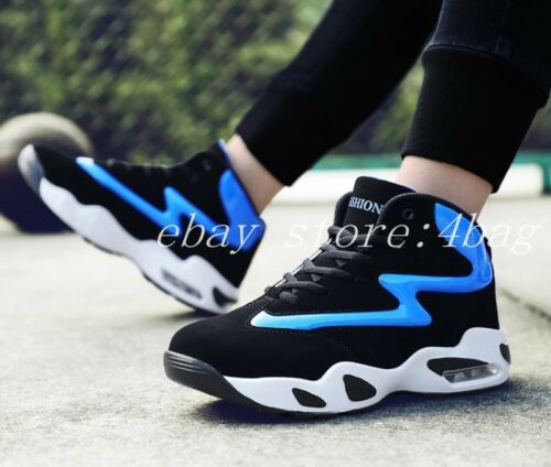 Mens High Top Sneakers Lace Up Board Running Shoes Trainers Sports Shoes Casual