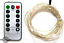 Lee Display Fairy Lights String Lights Plug-In Electric 8 Function 120L LED 40FT