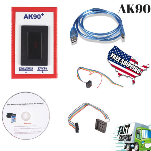 2017 New AK90 For All BMW Key Programmer EWS with Newest Version