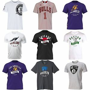 Adidas Team Nba Celtics Cavaliers T Shirts Lakers Nets Bulls ZBArxZ