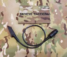 SKYEYE Tactical NACRE QUIETPRO Motorola HT/MTX/GP/PTX/PRO Radio Cable